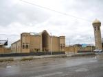 Туркестан. Одна из современных мечетей