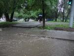 Алматы. Ливень