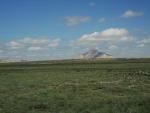 Горы в степях Казахстана