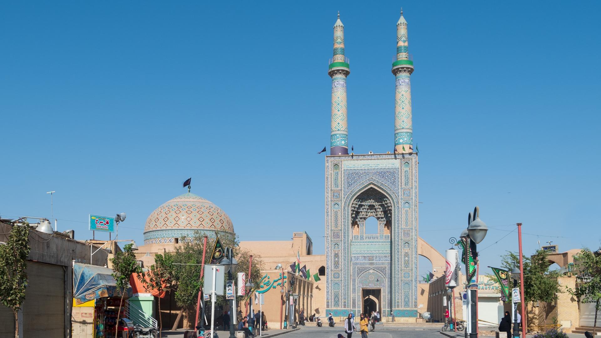 Йезд. Пятничная мечеть