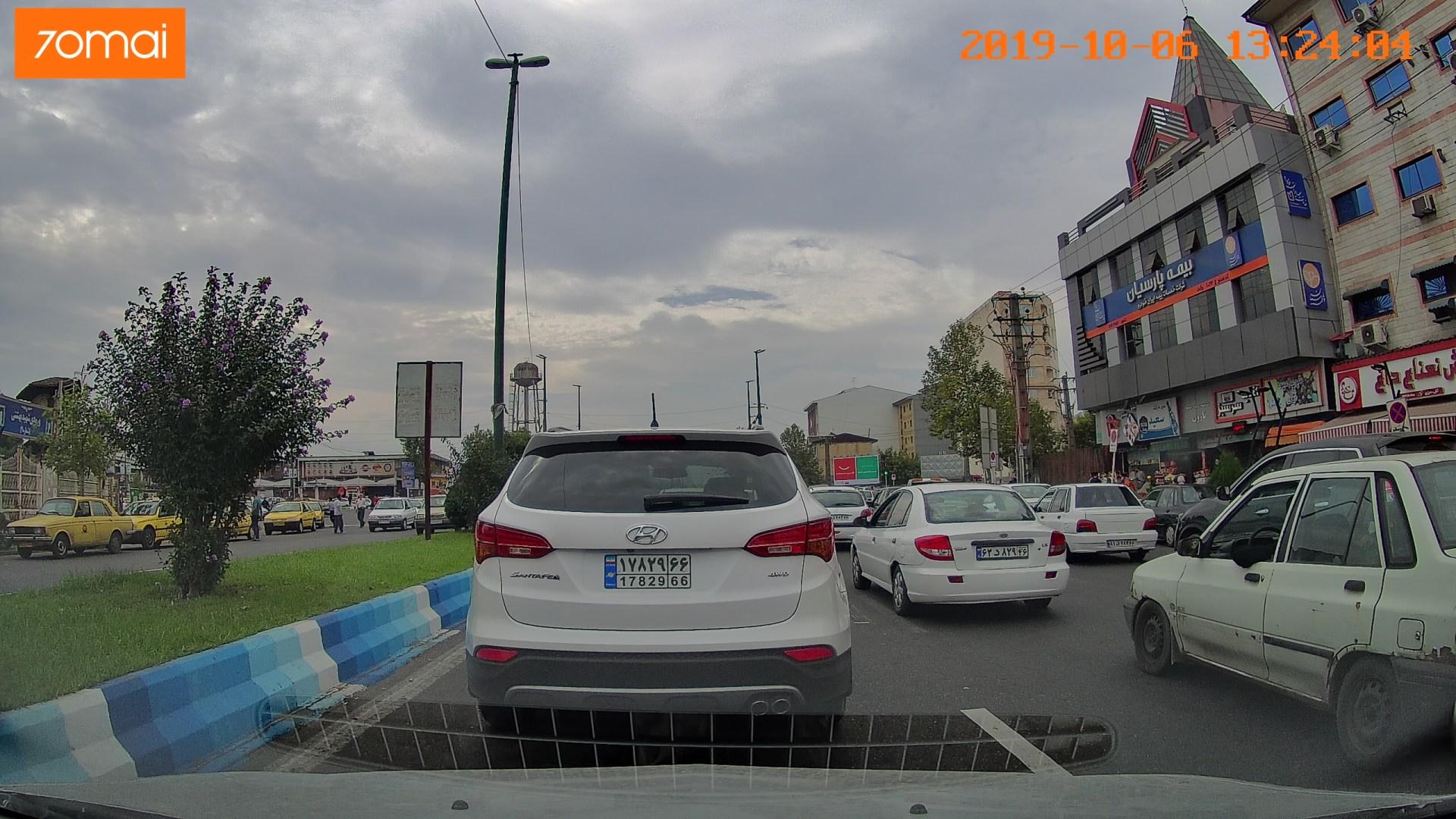 Пробки на Каспийском побережье