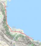 Вдоль Каспийского моря