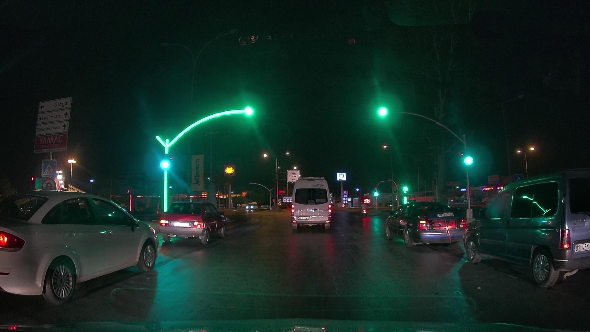 Адана. Светофор