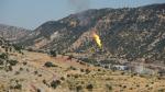 Горящие факелы нефтедобычи