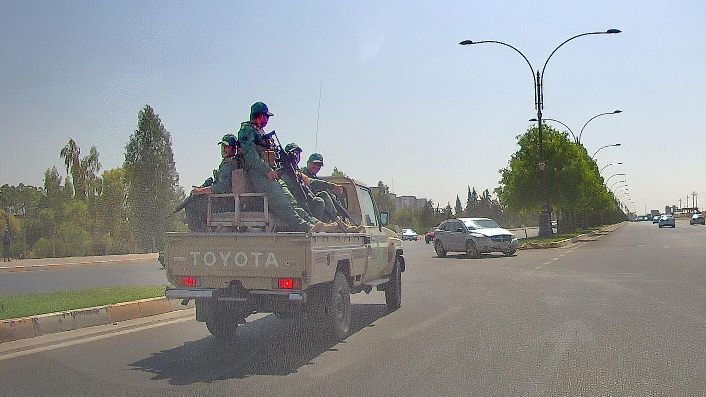Эрбиль. Пешмерга Барзани