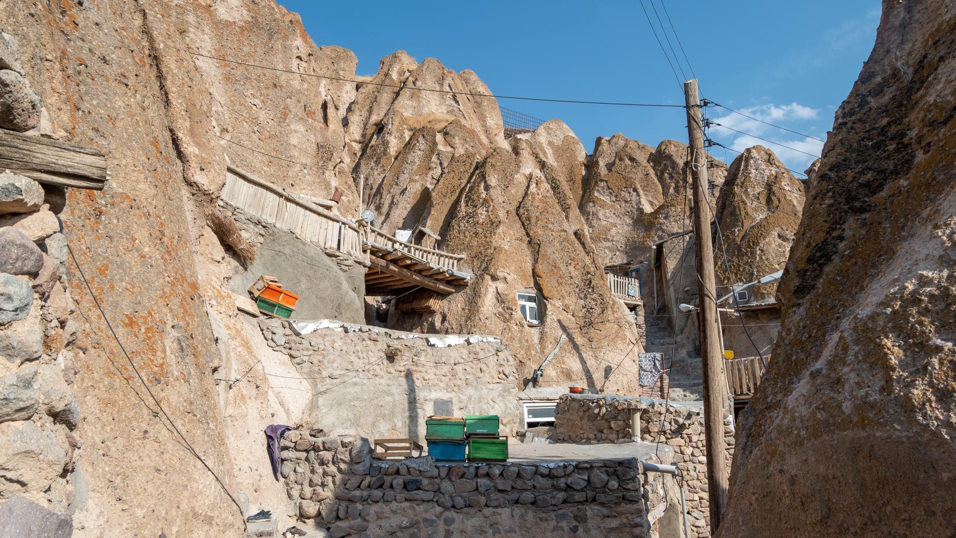 Кандован. Пещерный город