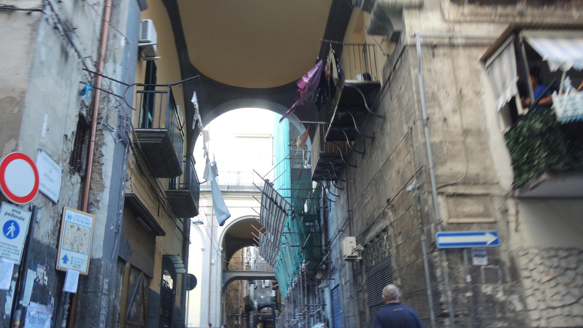 Неаполь - основная часть городжа