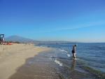 Пляж в Катании