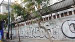 Нраффити в Афинах