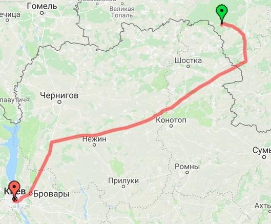 Суземка - Киев