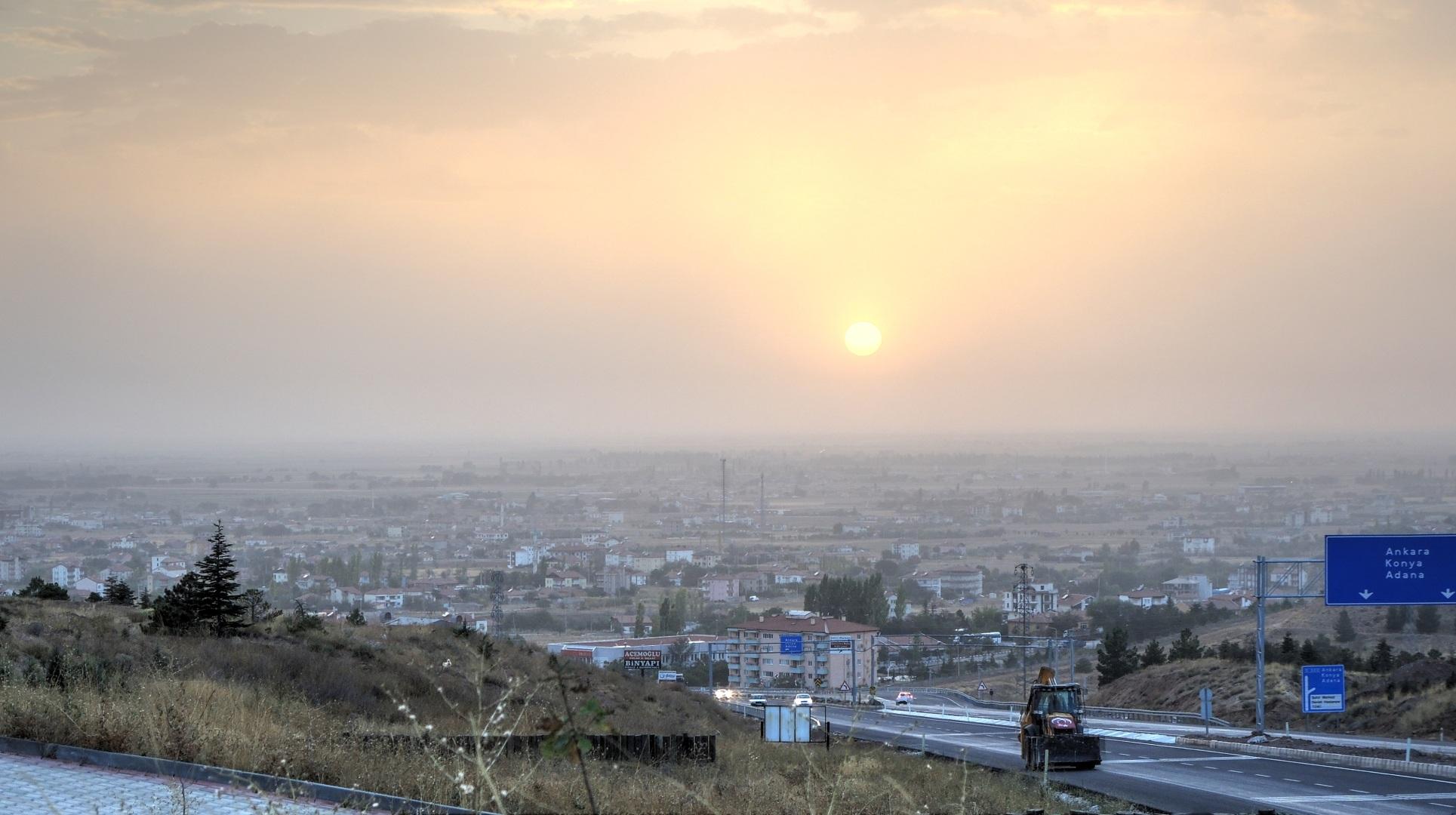 Аксарай - пыль в небе