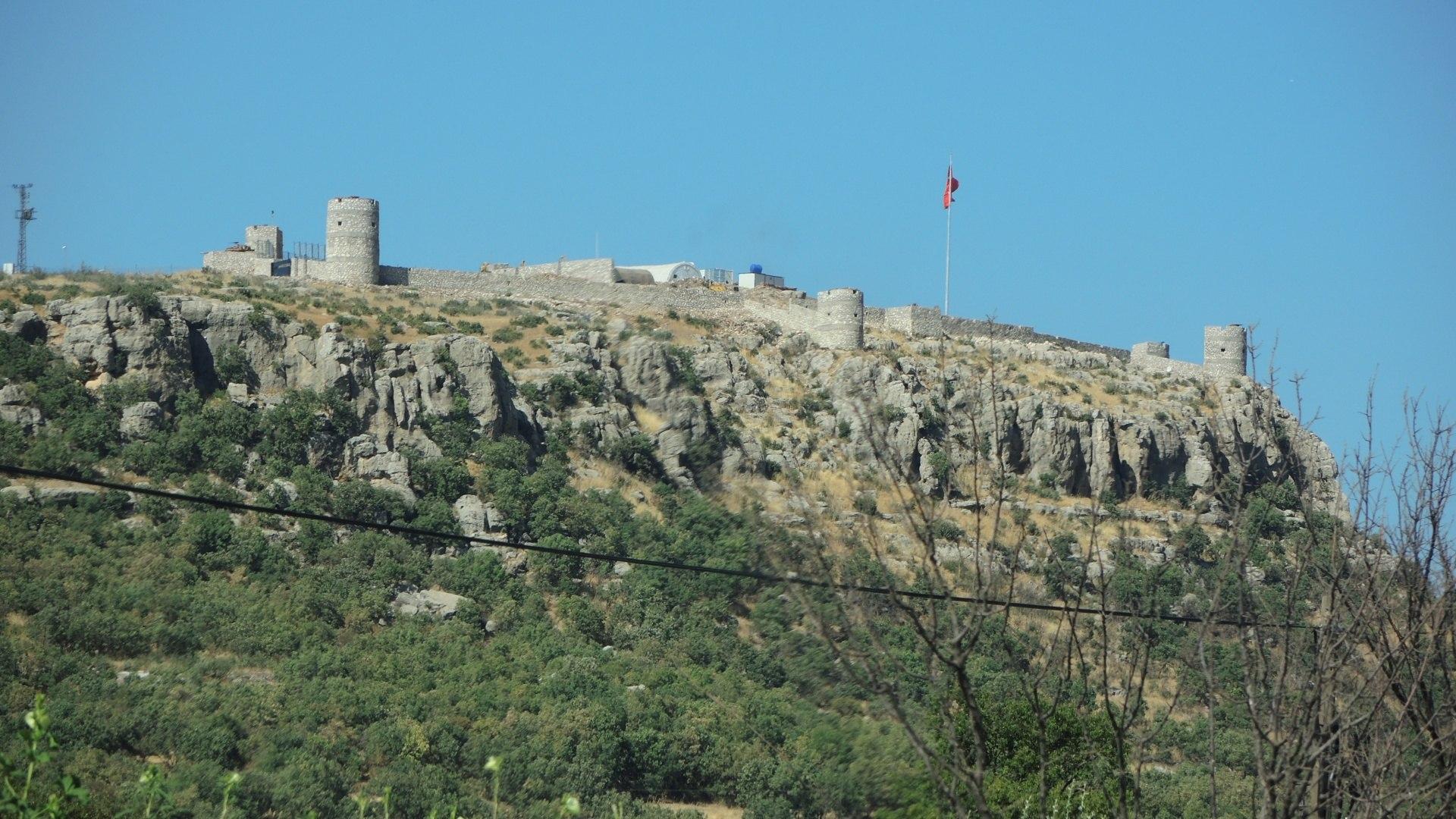 Крепость занятая военными