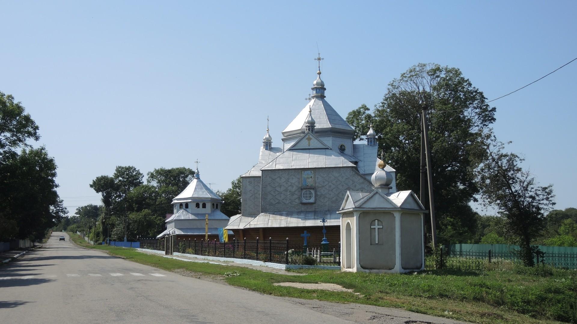 Церковь вознесения Христа - село Сороки