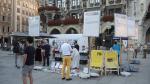 Мюнхен. Митинг