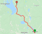Вологда - Вытегра - Пудож
