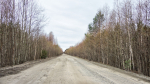 Типичные дороги Карелии