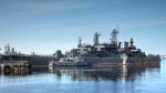 """o""""Кондопога"""" - большой десантный корабль проекта 775"""